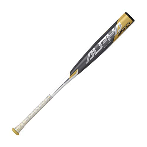 EASTON ALPHA 360 -3 BBCOR Baseball Bat | 2 5/8 Barrel | 2020 | 1 Piece Alumimum | ATAC Alloy Carbon Core Technology | VRSCOR Handle Insert | Speed Cap | Lizard Skin Grip, 29'/26 oz