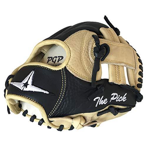 All-Star FG100TMBK/TN9.5 Training Glove/The Pick/RHT BK/TN 9.5