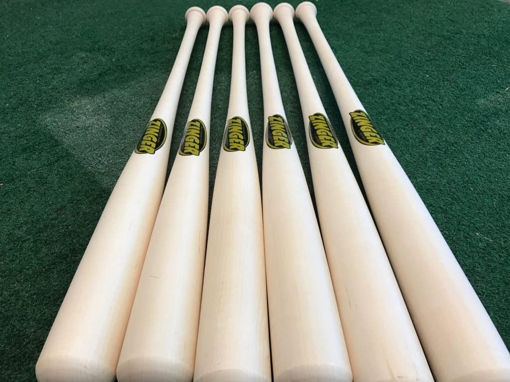 zinger blem wood bats